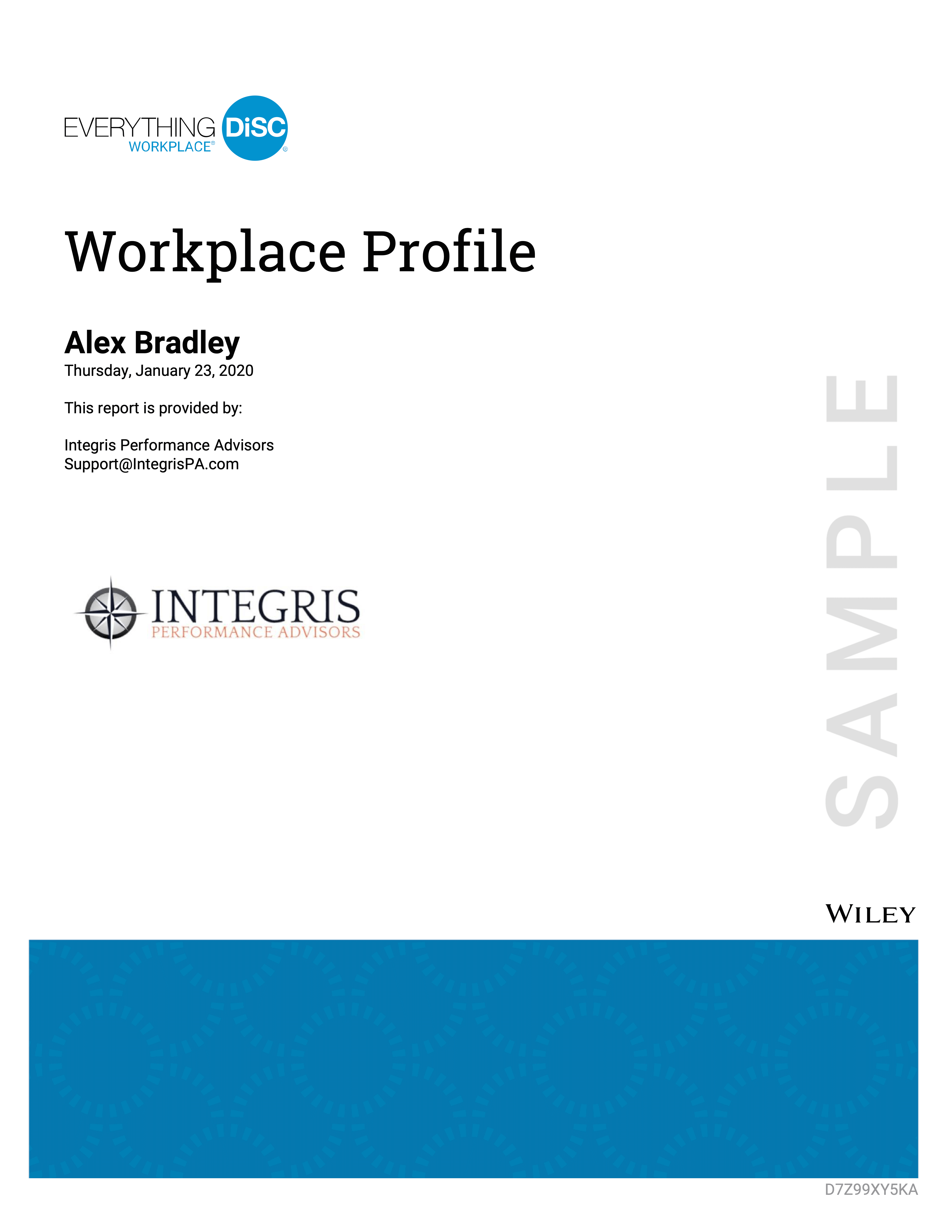 ED Workplace Sample Cover