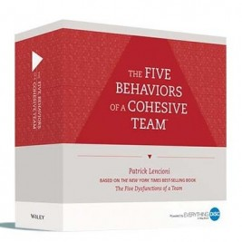 The Five Behaviors of a Cohesive Team™ Facilitation Kit