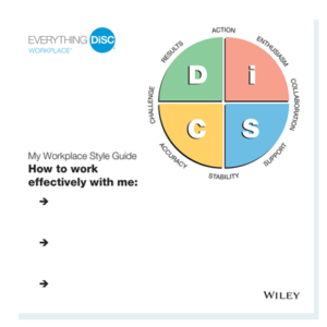 Everything DiSC Workplace My Style Guides