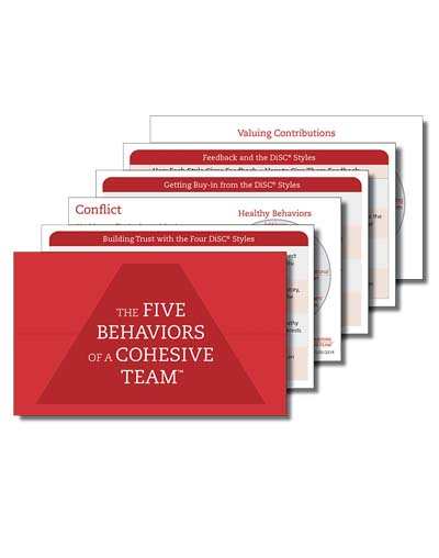 Five Behaviors Take-Away Cards
