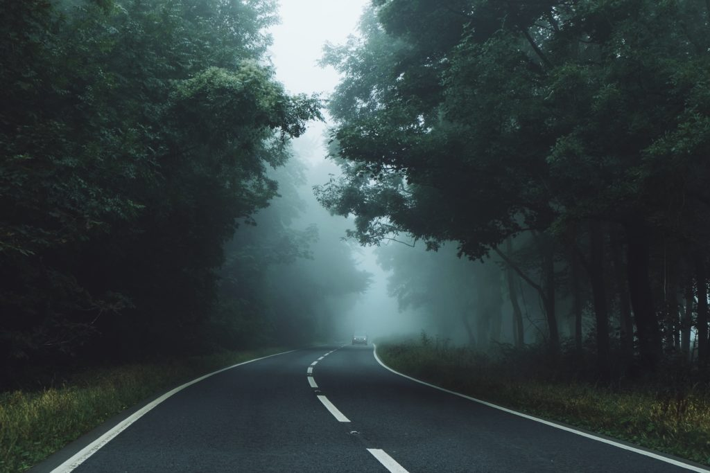 Fogged Road