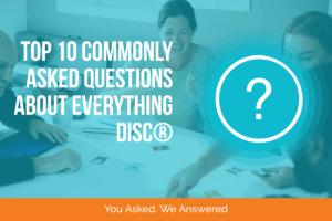 DiSC FAQs banner