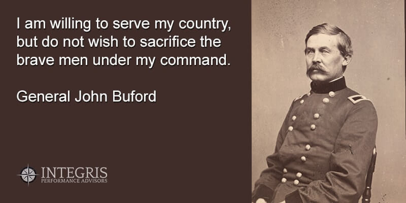 Willing to Serve John Buford