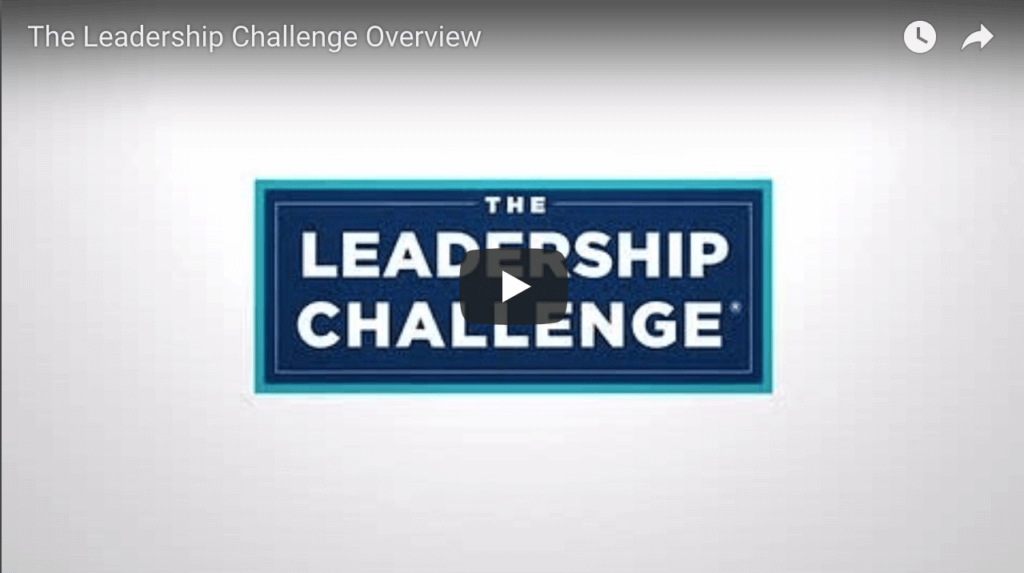leadership challenge overview video screenshot