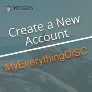 Create New MyEverythingDiSC Account