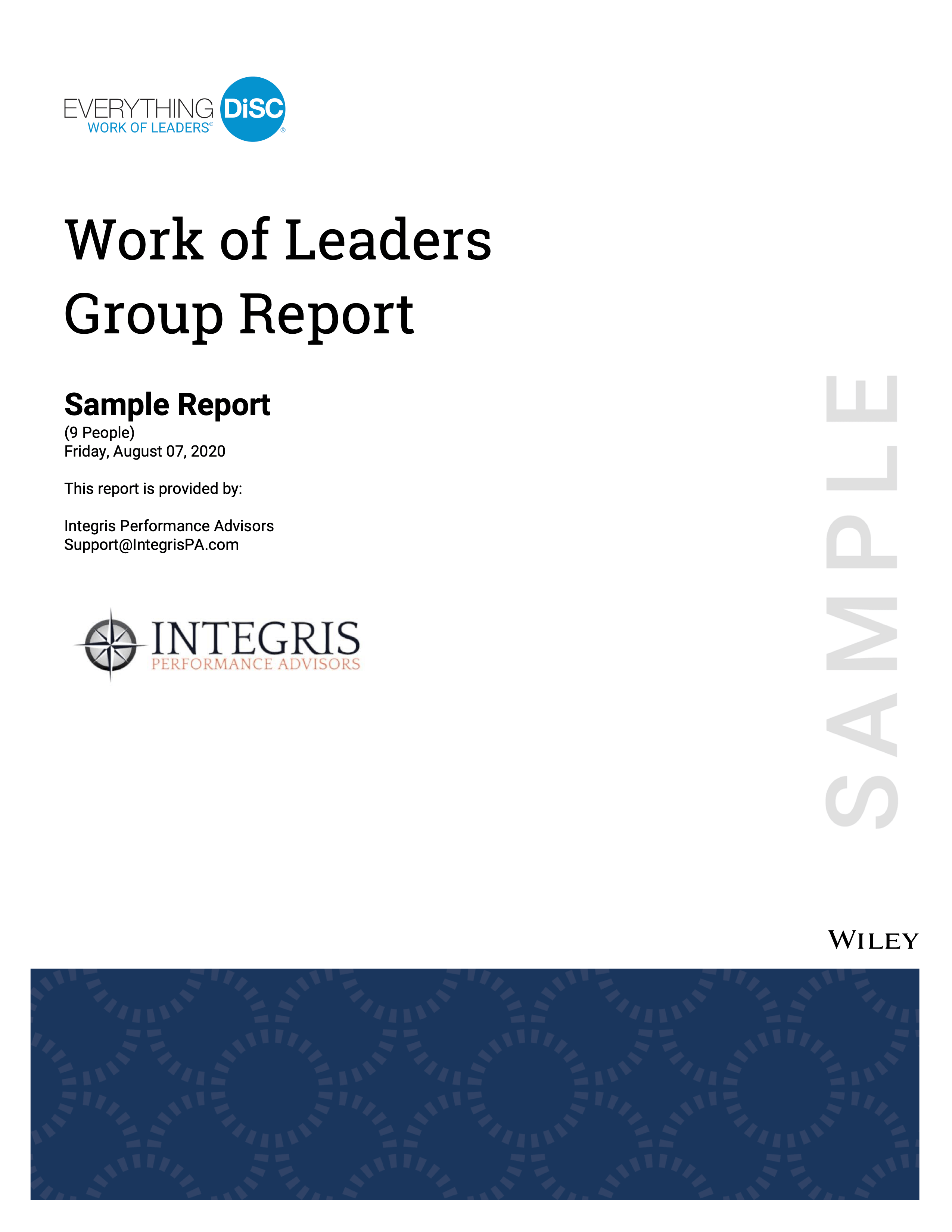 DiSC WOL Group Report Cover