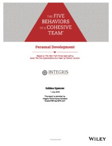 5B Personal Development Cover