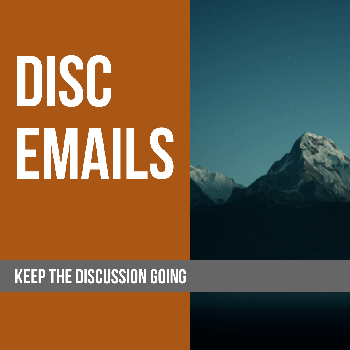 DiSC Emails
