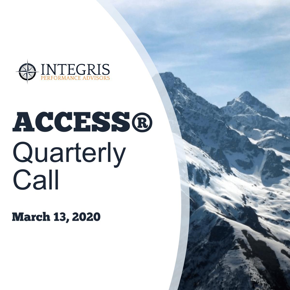 2020.03.13 ACCESS Call